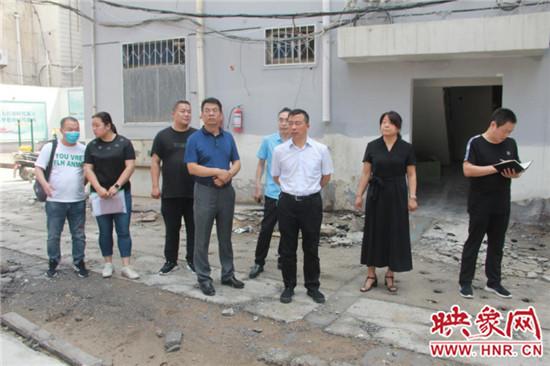 巩义市领导调研老河南新闻旧小区综合改造工作