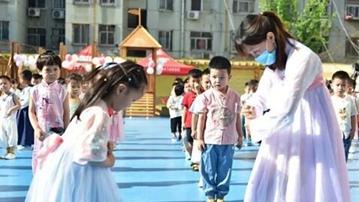 濮阳市直卫河园举行第二届传统文化节