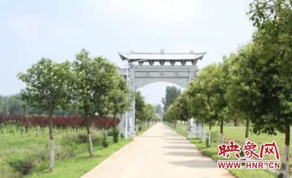 驻马店泌阳杨家集镇孟岗村入选省级美丽乡村示范村