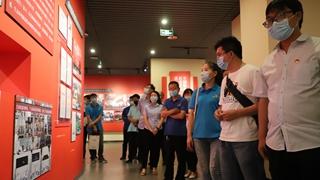龙八国际网页版万里交科党员走进许昌党史馆接受红色教育