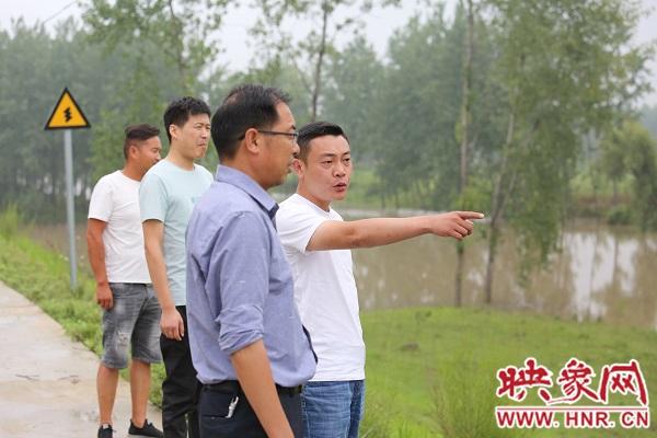 """信阳淮滨:植入""""科技芯片"""" 防汛抗洪更智慧"""
