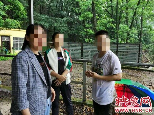西平县公安局:深山暴雨紧急救援