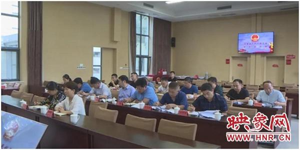 """兰考县人大召开""""助力乡村振兴 人大代表在行动""""主题活动座谈会"""