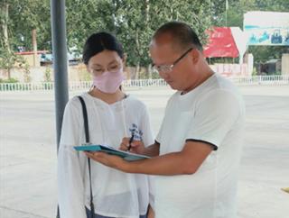 华北水利水电大学到南乐县开展垃圾分类宣讲活动