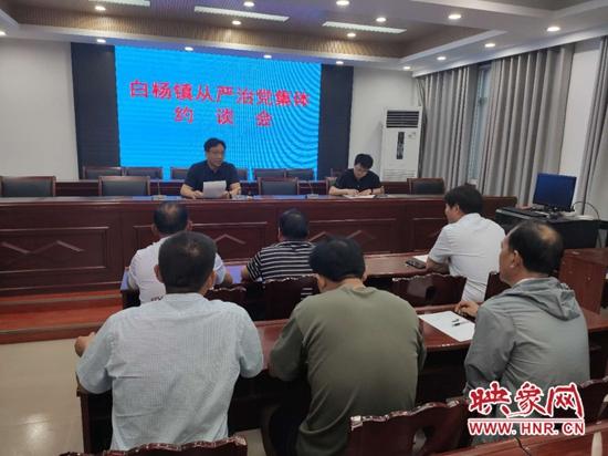 白杨镇党委书记马海涛:树立党员先锋形象 用责任与担当诠释入党誓言