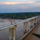 济洛西高速黄河特大桥顺利合龙