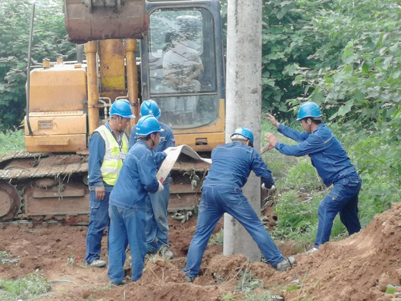 宜阳:实施电缆入地工程 服务高速公路建设