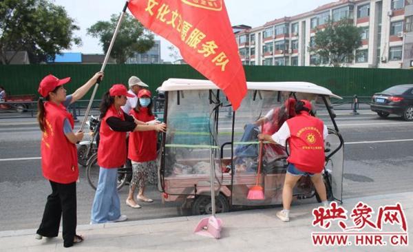 杞县新时代文明实践志愿服务总队成立