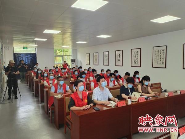 """河南省 """"新时代宣讲师""""志愿服务走进项城"""