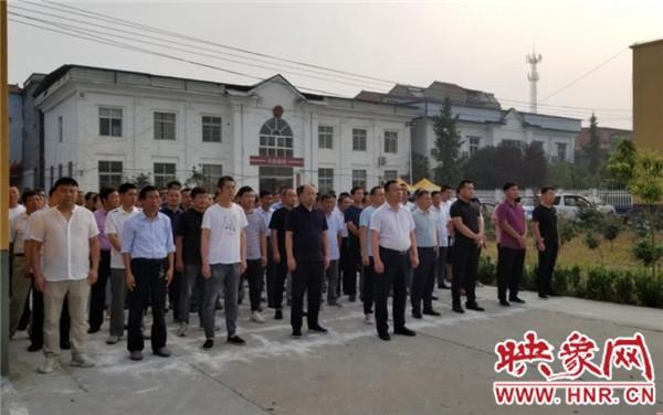 沈丘县刘庄店镇开展主题党日活动