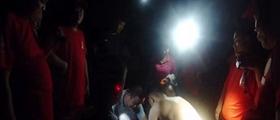 林州:村民深山采药失联民警连夜搜救