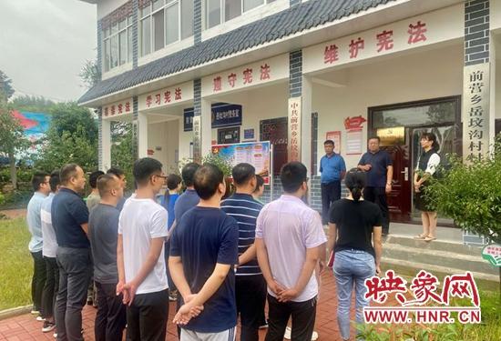 宝丰县前营乡成立村级创业孵化中心