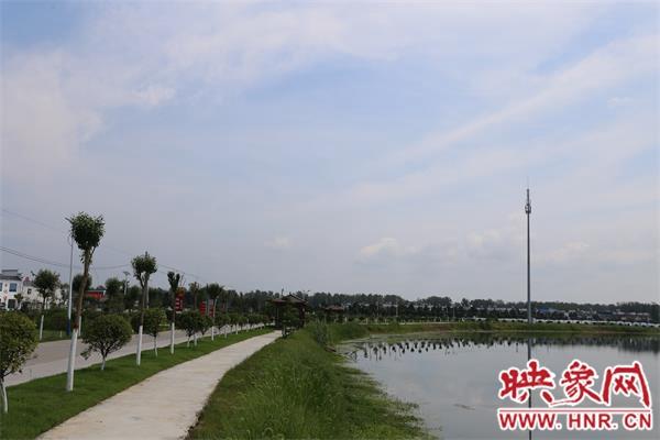 信阳市淮滨县:乡村美如画处处是风景