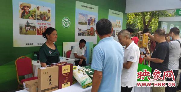 新蔡县参加河南省绿色食品宣传月活动