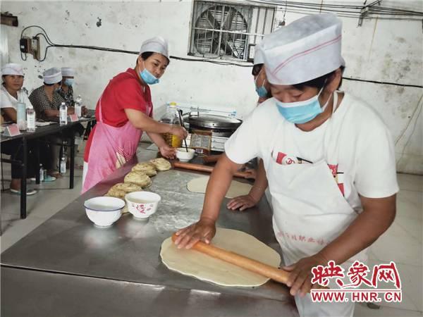 面点师免费培训 濮阳范县就业技能送到家门口