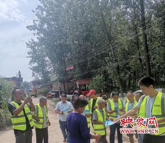 平舆县万冢镇持续开展防溺水安全隐患排查工作