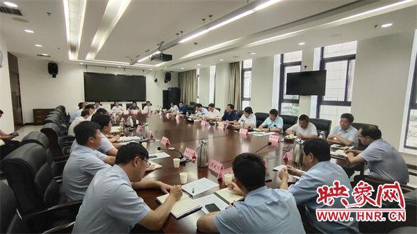 新乡平原示范区召开2020年下半年发展谋划座谈会