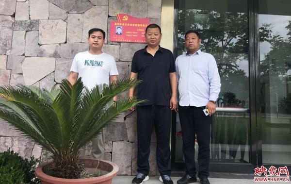 荥阳市高村乡90家非公企业迎来党建指导员