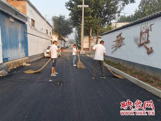 郏县东城街道:清洁家园行动让农村靓起来