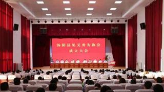 汤阴县见义勇为协会成立