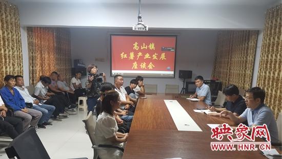 伊川县高山镇:紧盯产业 促乡村振兴
