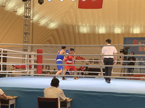 2020年全国男子拳击锦标赛在宜阳开幕