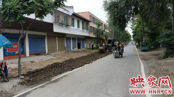 """平舆县西洋店镇:完善基础设施 提升""""颜值""""助推创文"""