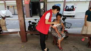 鹿邑农商银行积极开展党员进社区志愿服务活动