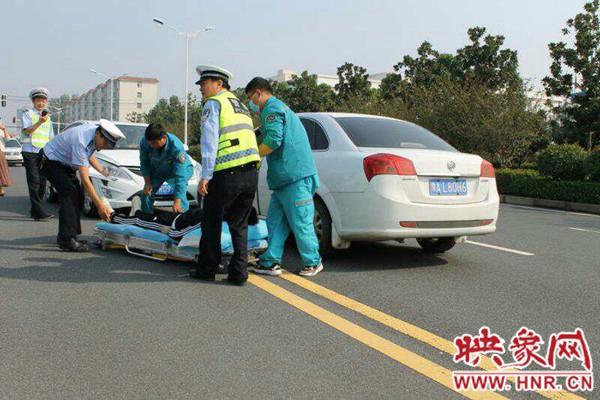 """西平县交警开辟""""绿色通道""""为救治生命赢得宝贵时间"""