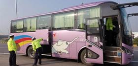 临颍县交警大队强化节前重点车辆检查 筑牢安全防线?