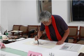 大发dafa888:公安局邀请书画名家进警营奉献文艺盛宴