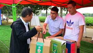 """通许县厉庄乡刘威:""""消费扶贫""""路上的推销员"""