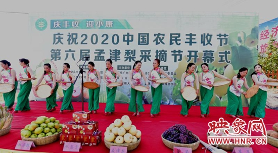孟津县会盟镇第六届孟津梨采摘节盛大开幕