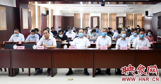 """河南省市场监管局""""99公益日""""助力见义勇为献爱心募捐活动启动"""