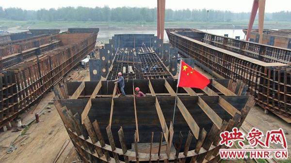 淮滨:造船引擎再续航 扶贫之路更宽广