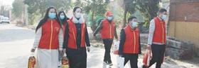 禹州市自然资源和规划局开展关爱老人志愿服务行动