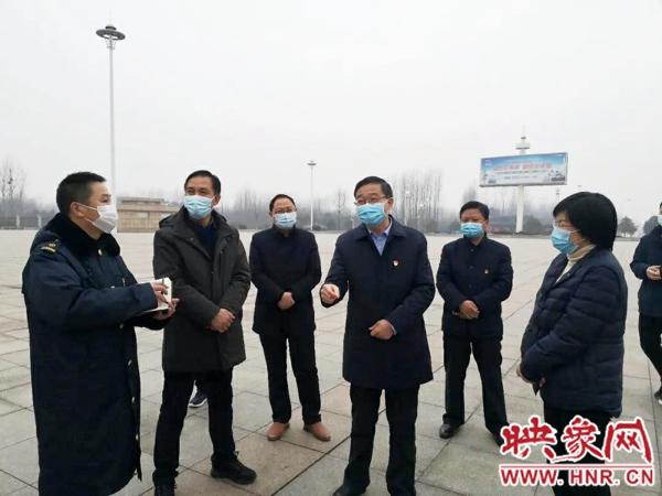 光山县委书记刘勇检查指导新冠肺炎疫情防控工作