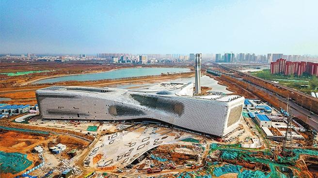 """河南省科技馆新馆开馆""""倒计时"""" 国内在建最大规模 设8个常设展厅"""