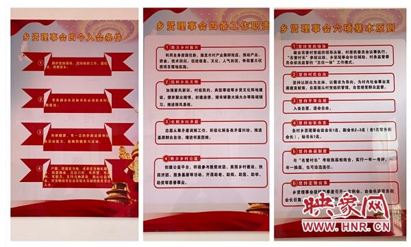 商城县崔楼村红十字工作站和乡贤理事会揭牌仪式举行
