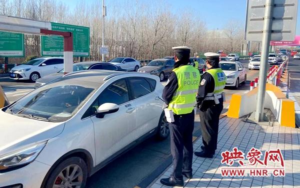 元旦假期河南省高速公路日均流量165.7万辆 高速交警昼夜护航保通