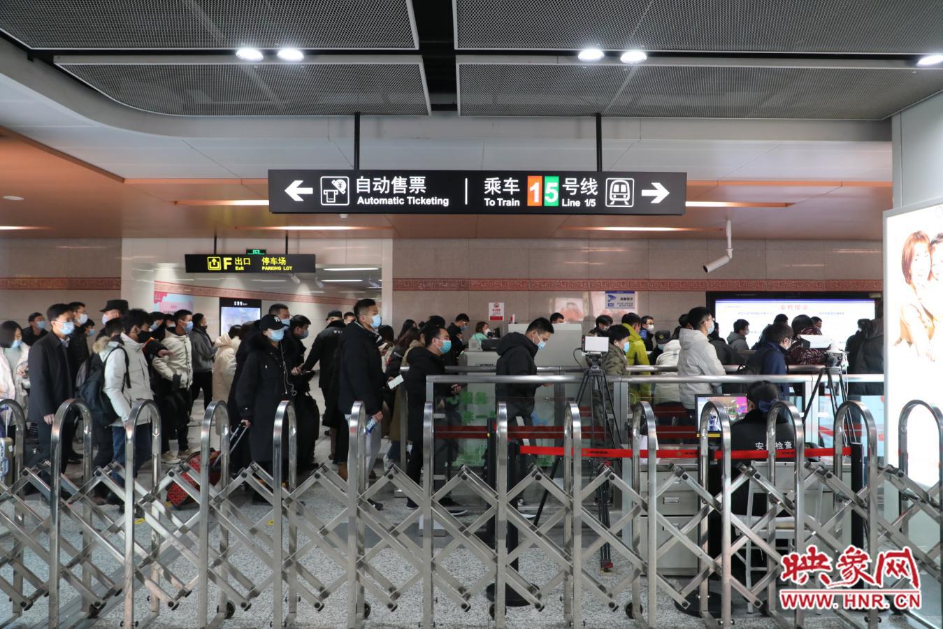 准点率100% 元旦小长假郑州地铁运送乘客584.14万人次