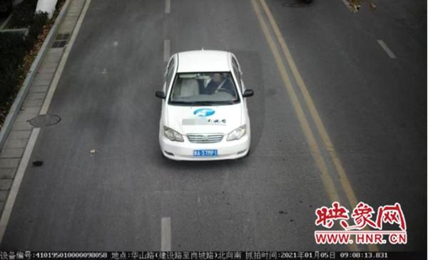 """私自张贴电视台台标 这位""""李鬼""""被郑州警方查获"""