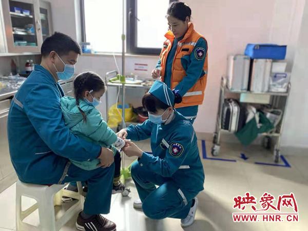 春节期间郑州120急救接诊1746人次 抢救561人心脑血管病人