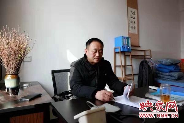 驻村第一书记张忠伟:引领大蔡村蝶变 赋能乡村振兴