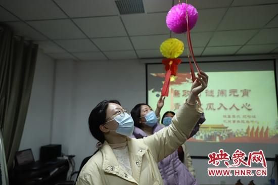 """平顶山宝丰县:元宵佳节""""廉""""味浓 清廉之风入人心"""