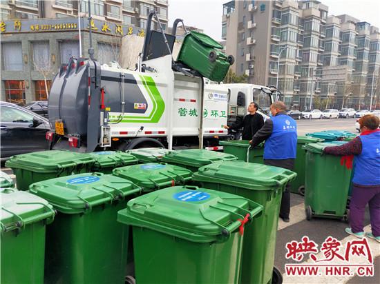 郑州市管城区新型厨余垃圾收集车上岗 保障辖区厨余垃圾应收尽收