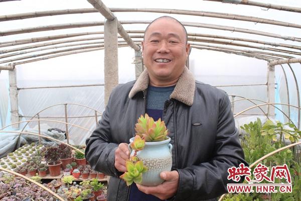 杞县:尚爱国和他的多肉王国