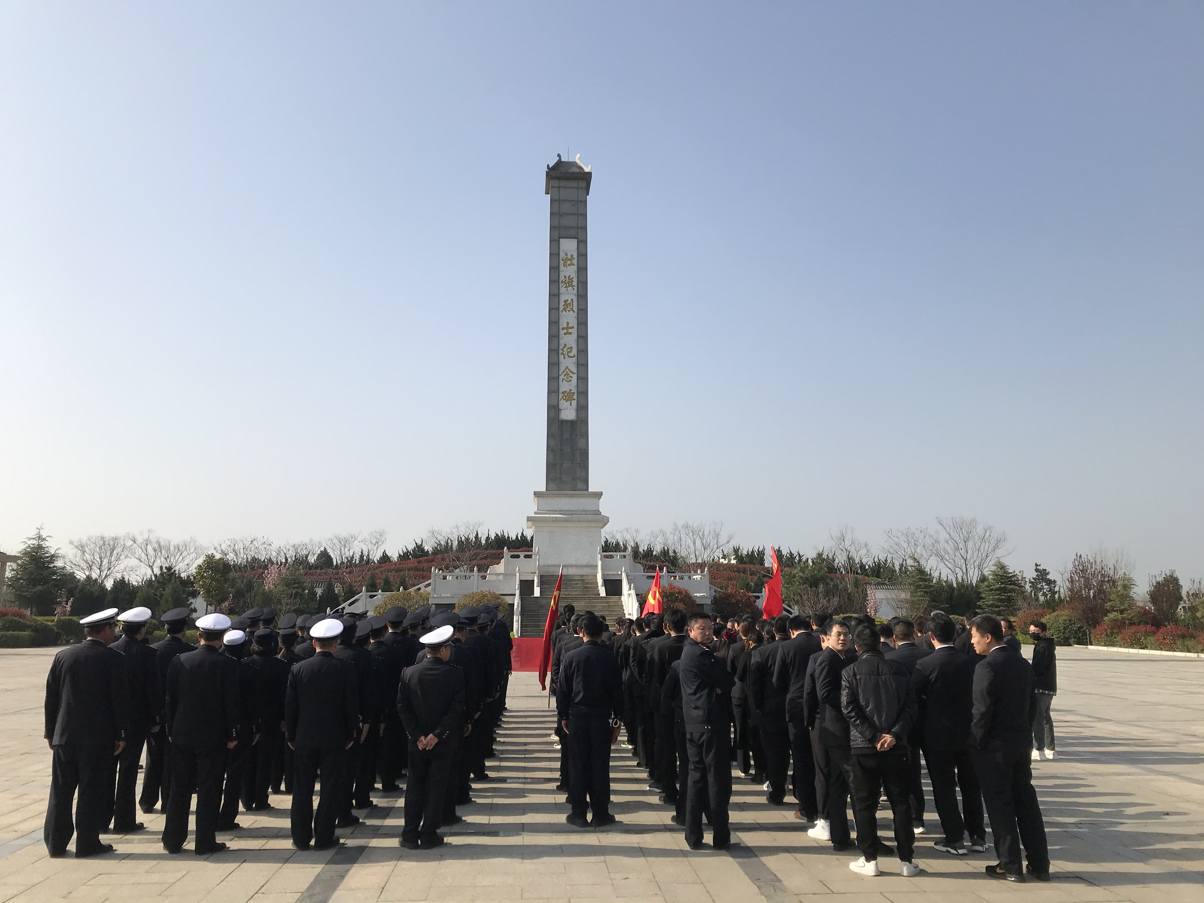 社旗县利用红色资源开展政法队伍教育整顿实践活动