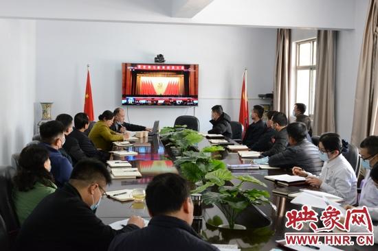 郑州市八院组织党员集中收看学习习近平总书记在党史学习教育动员大会上的重要讲话