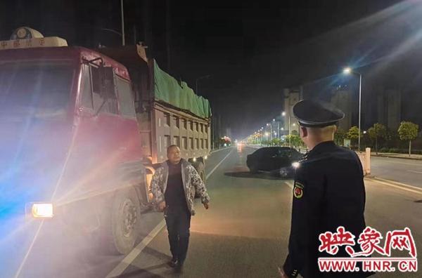 新蔡县城市管理局:加强渣土车辆监管助推扬尘污染攻坚工作